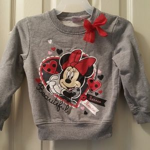 Girl's Disney sweatshirt